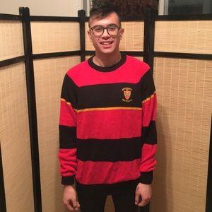 🦁Old School Waterloo Uni Sweater Era 80s📚